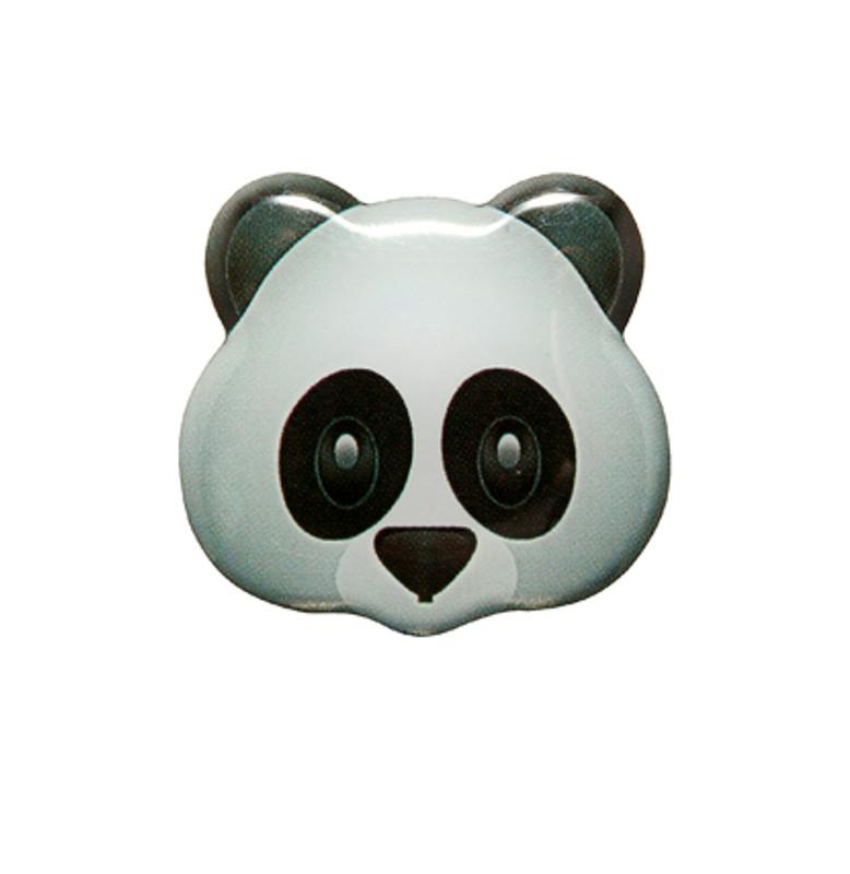 Panda Emoji Lapel Pin