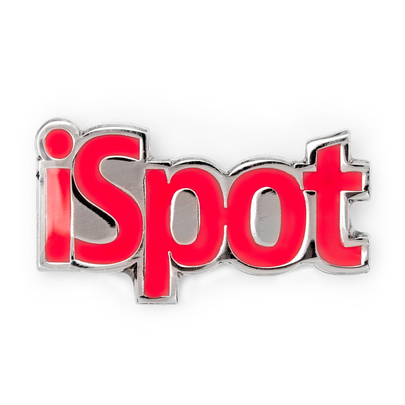 iSpot (Red) Lapel Pin