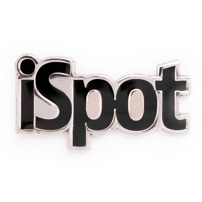 iSpot (Black) Lapel Pin