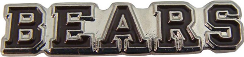 BEARS (Brown) Lapel Pin