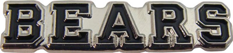 BEARS (Black) Lapel Pin