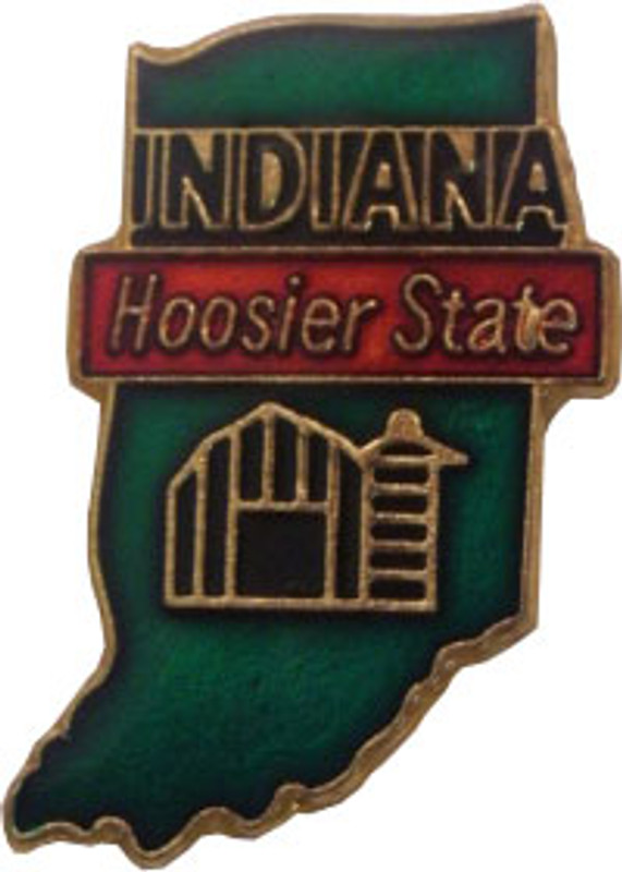 Indiana State Lapel Pin