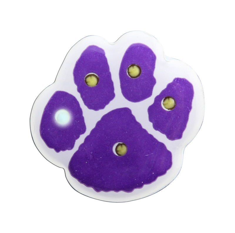"PAW-LIGHT 1"" (Purple/White) Lapel Pin"