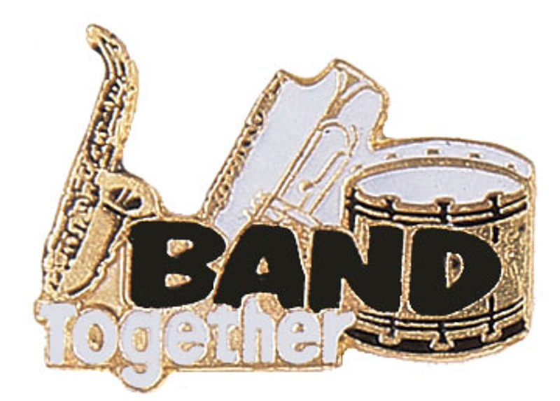Band Together Lapel Pin