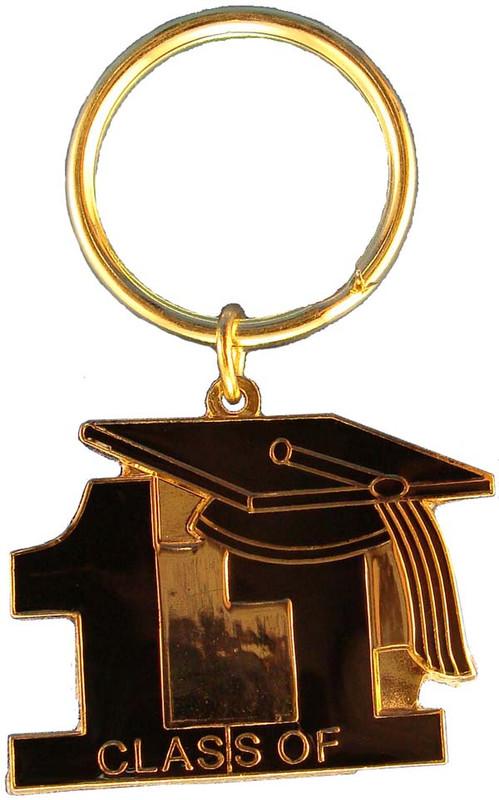 Key Ring Class of 11' Black