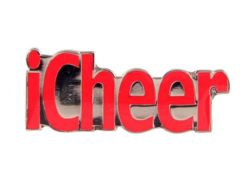 iCheer (RED) Lapel Pin