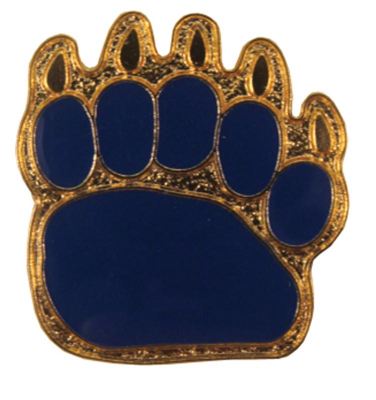 Bear Paw Lapel Pin