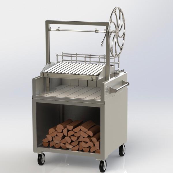 El Gordito Asado - Full Stainless Steel