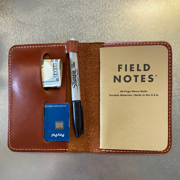 Crafted Fire Field Note Wallet