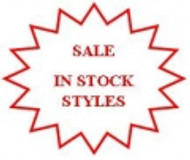 In Stock Styles - SALE