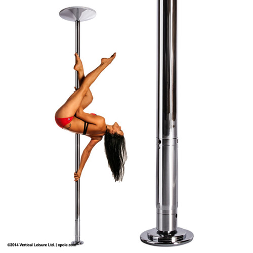 NX**CR-XP - X-Pert Spinning Dance Pole - Complete Set (NX)