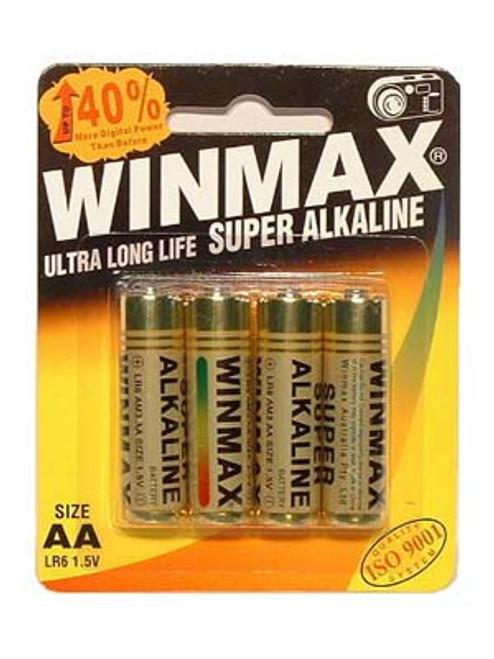 AABP4SA-WW - Winmax AA Super Alkaline Batteries