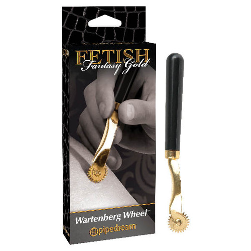 PD3994-27-WW - Fetish Fantasy Gold Wartenberg Wheel
