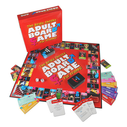 USREALL-WW - The Really Cheeky Adult Board Game For Friends