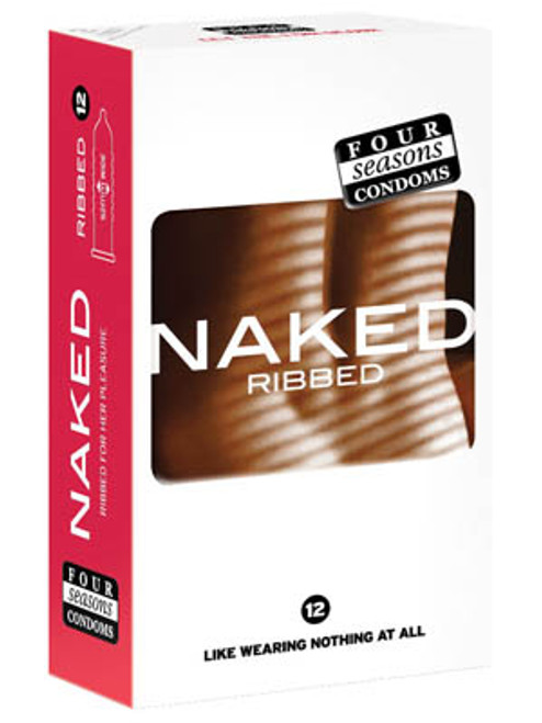 FOR024-WW - Naked Ribbed Ultra Thin Ribbed & Lubed Condoms