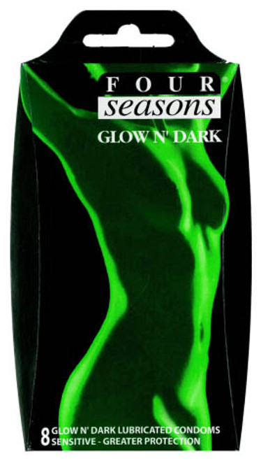 FOR068-WW - Glow N' Dark Condoms