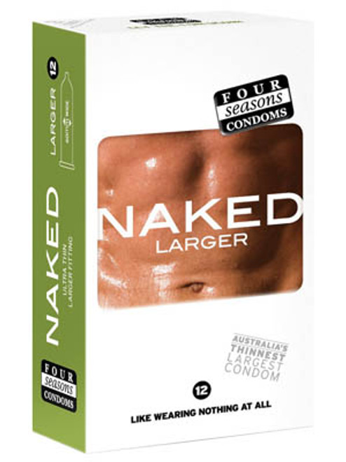 FOR070-WW - Naked Larger Fitting Condoms