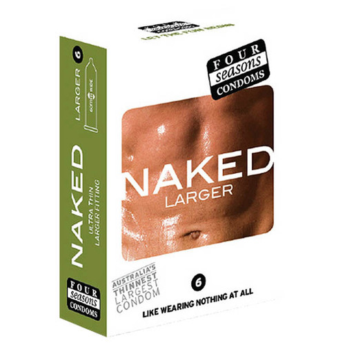 FOR075-WW - Naked Larger Fitting Condoms
