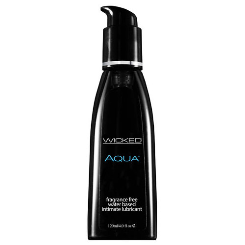90104-WW - Wicked Aqua Water Based Lubricant 120 ml (4 oz) Bottle