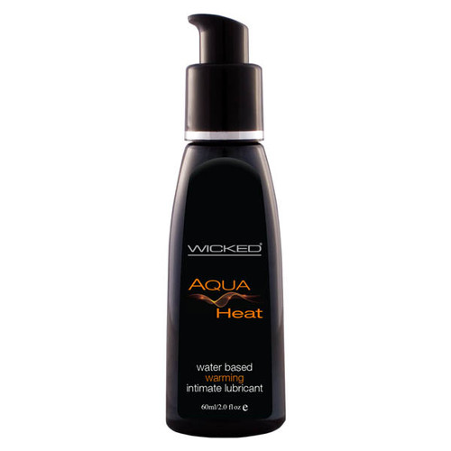 90227-WW - Wicked Aqua Heat Warming Water Based Lubricant 60 ml (2oz)