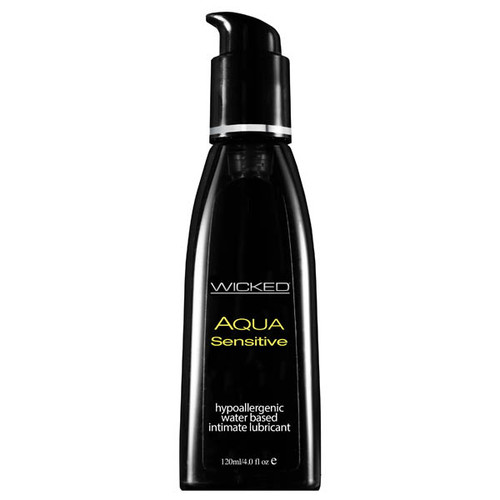 90204-WW - Wicked Aqua Sensitive Water Based Lubricant 120 ml (4 oz) Bottle