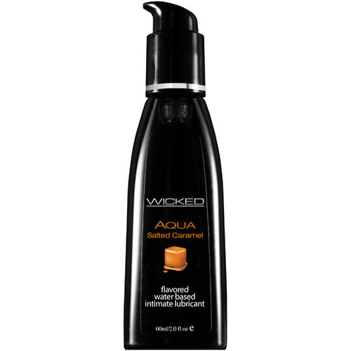 90322-WW - Wicked Aqua Salted Caramel Flavoured Water Based Lubricant