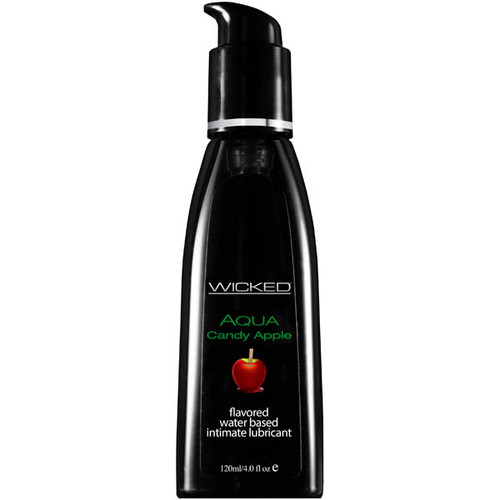 90404-WW - Wicked Aqua Candy Apple Flavoured Water Based Lubricant