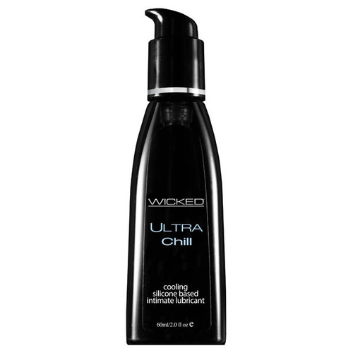 90602-WW - Wicked Ultra Chill Cooling Silicone Lubricant 60 ml (2 oz)