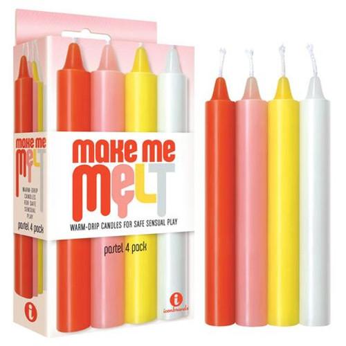 IC2327-2-WW - Make Me Melt Drip Pastel Candles