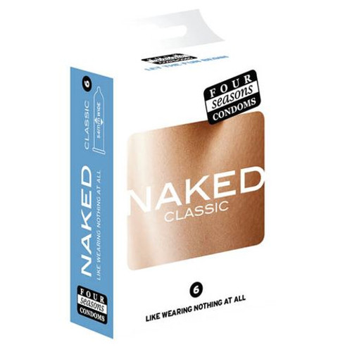 FOR058-WW - Naked Classic Ultra Sheer Lubricated Condoms - 6 Pack