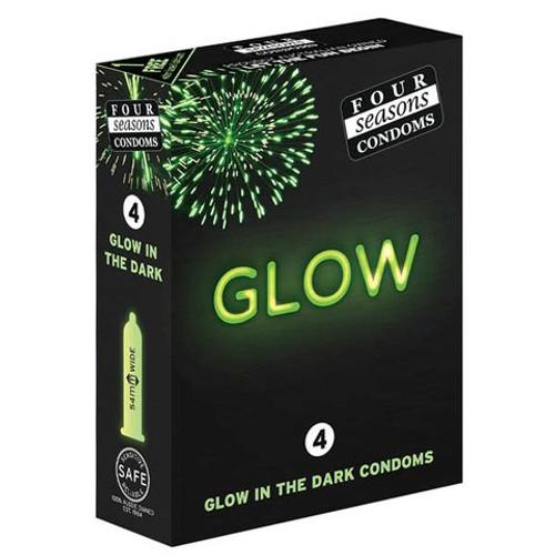 FOR067-WW - Glow N' Dark Condoms