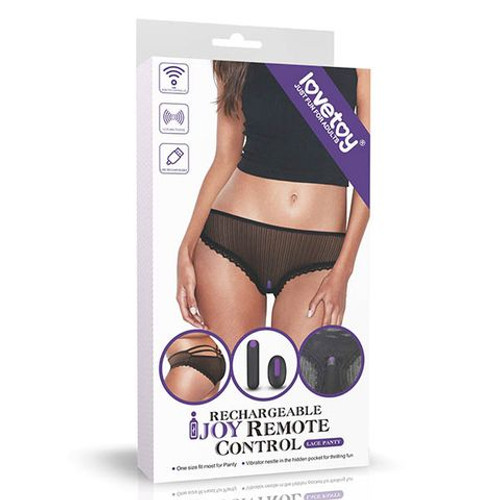 LV770201-WW - IJOY Rechargeable Remote Control Vibrating Panties