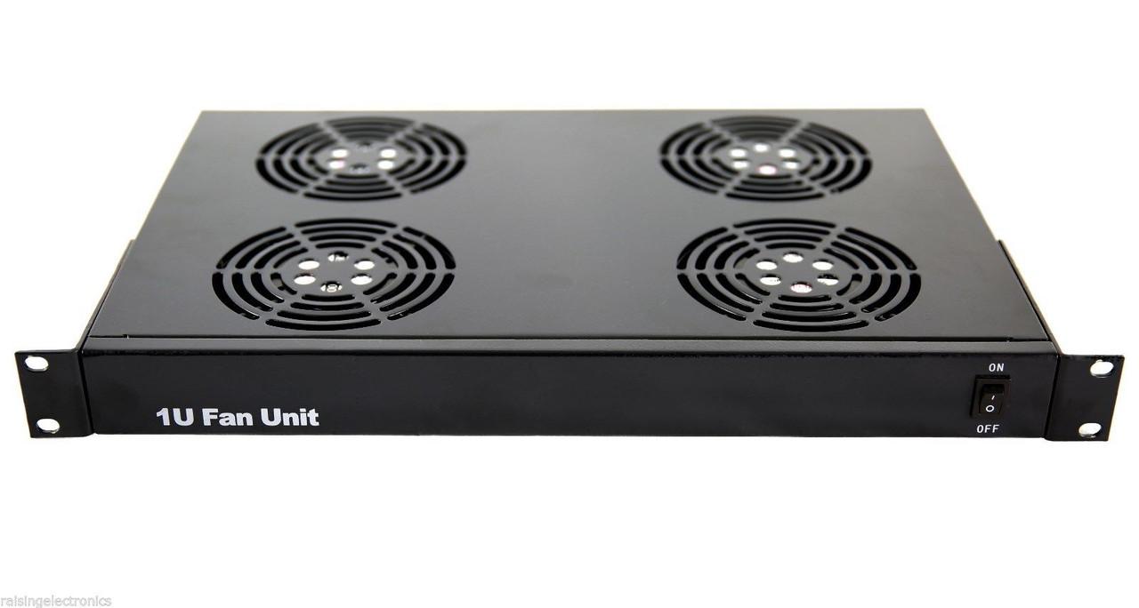 Rack Mount Server Fan Cooling System With 4 Fans 1u