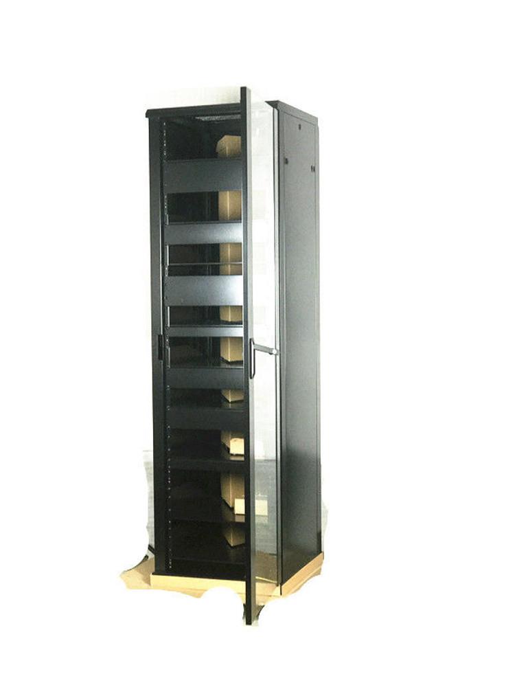 Rising 45U Audio Vedio Rack Mount Server Data Rack Cabinet 600MM Deep with  Glass Door