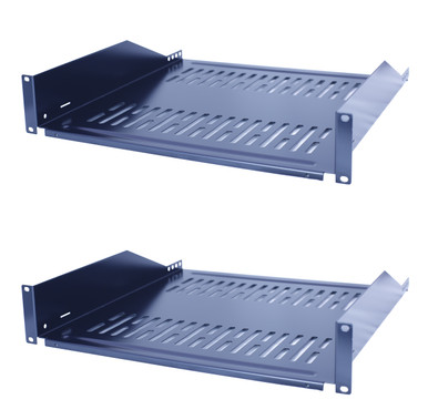 Rack Shelf 2U 14D Solid 19 rack mount cantilever 14D 9014 AMERICAN MADE!