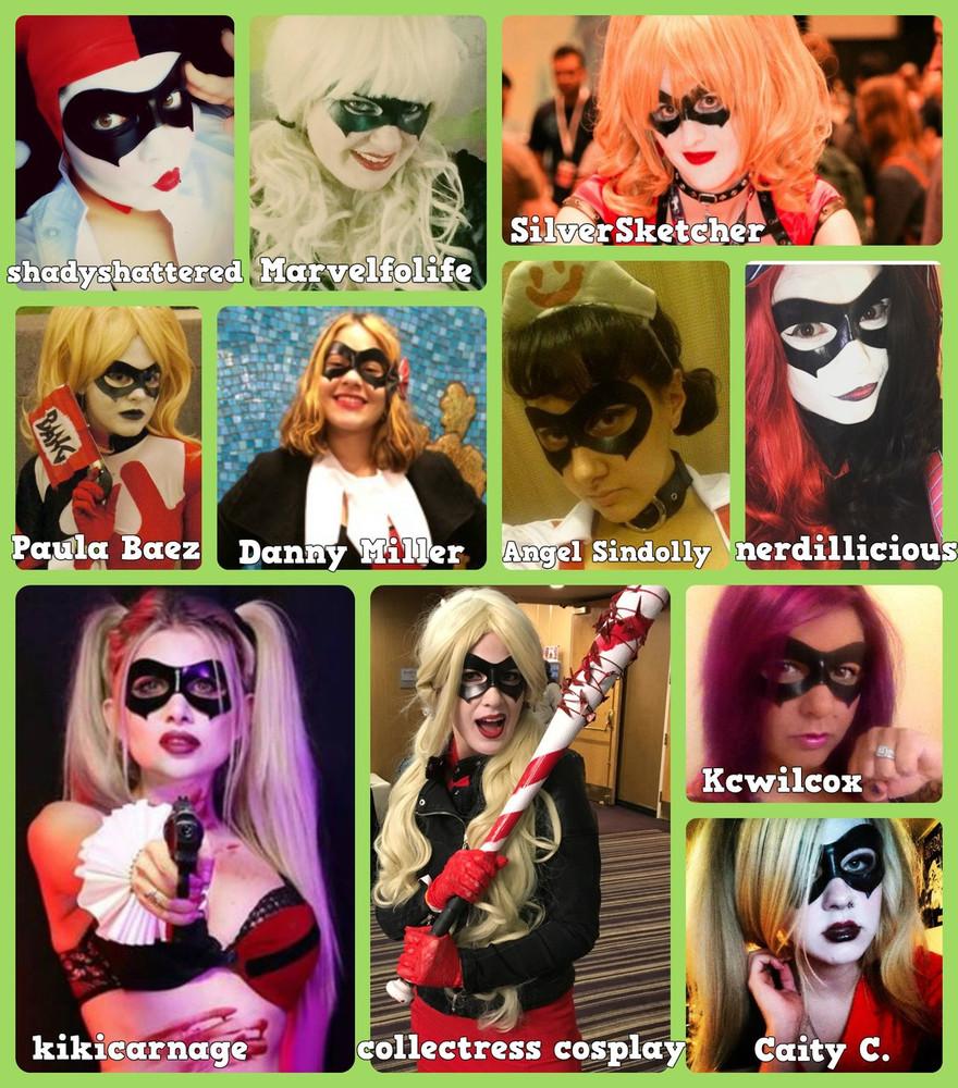 Harley Quinn Injustice Mask