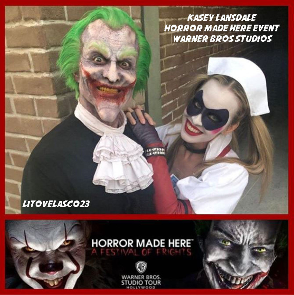 Models: Kasey Lansdale and Litovelasco23 (Horror Made Here Event, 2018)