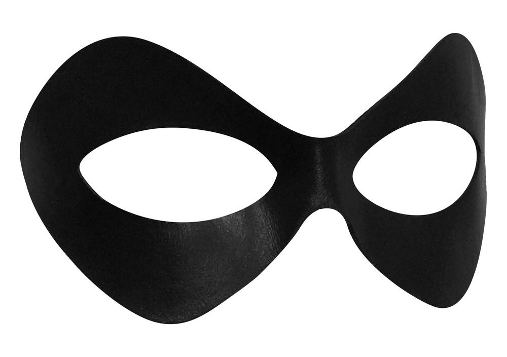 Harley Quinn Arkham Asylum Mask Black