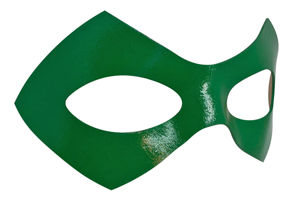 Riddler Green Mask Right