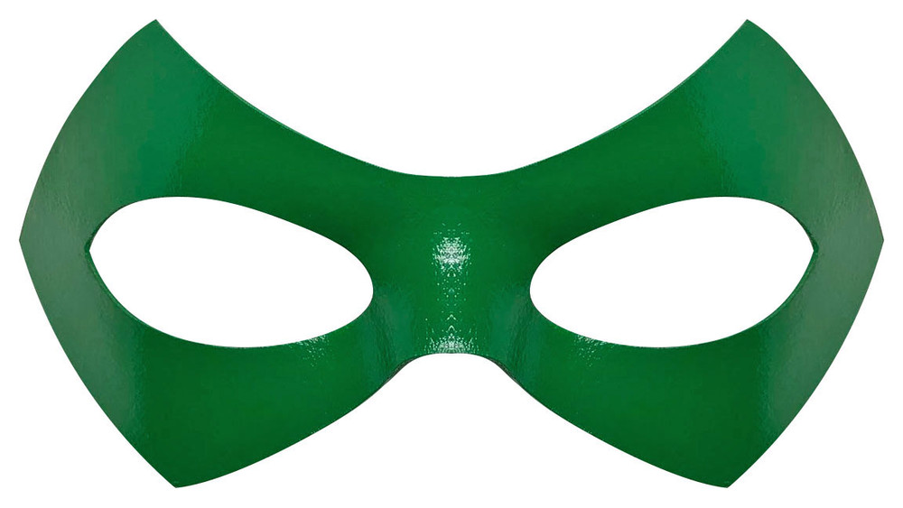 Riddler Green Mask Front