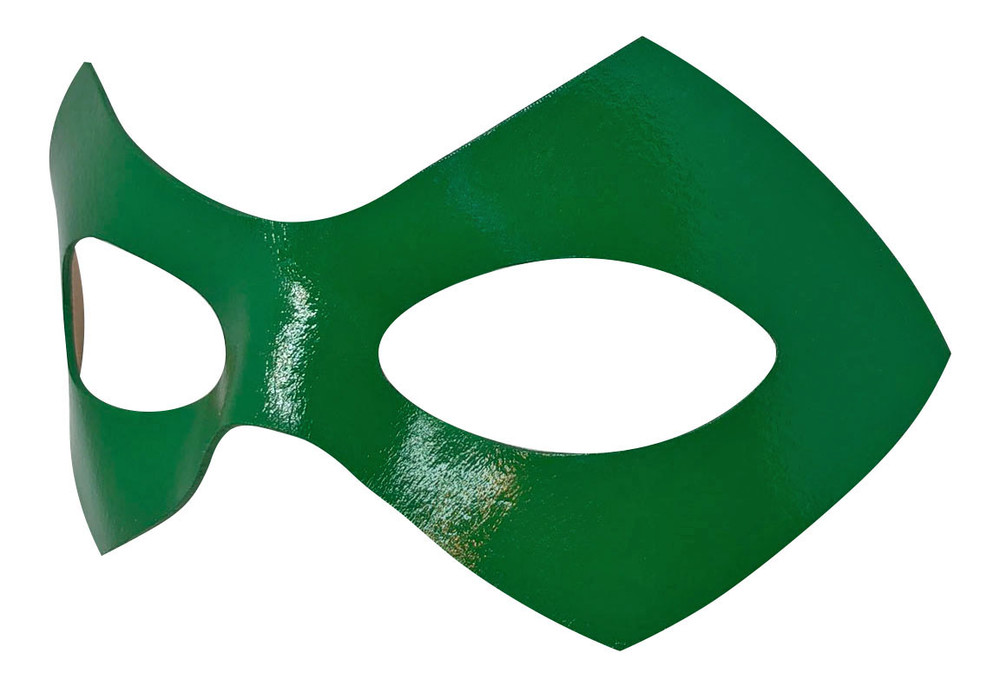 Riddler Green Mask Left