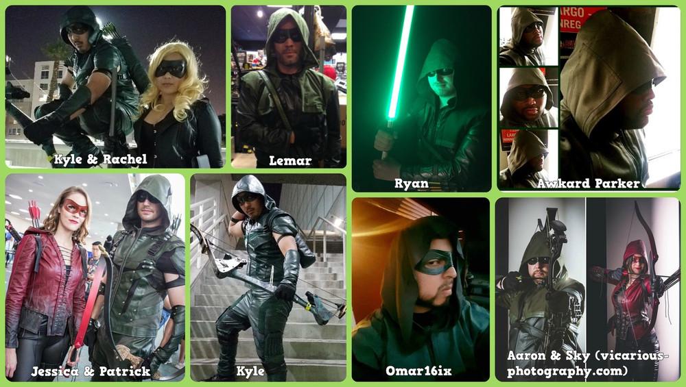 TV Green Arrow Mask