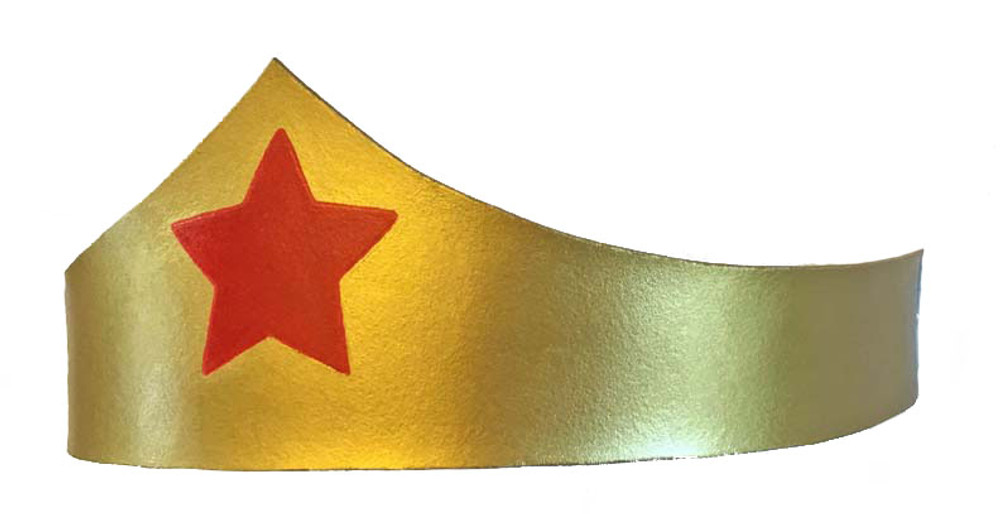 Wonder Woman Crown Left