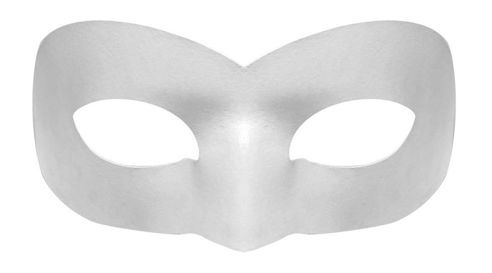Chat Blanc Mask Front