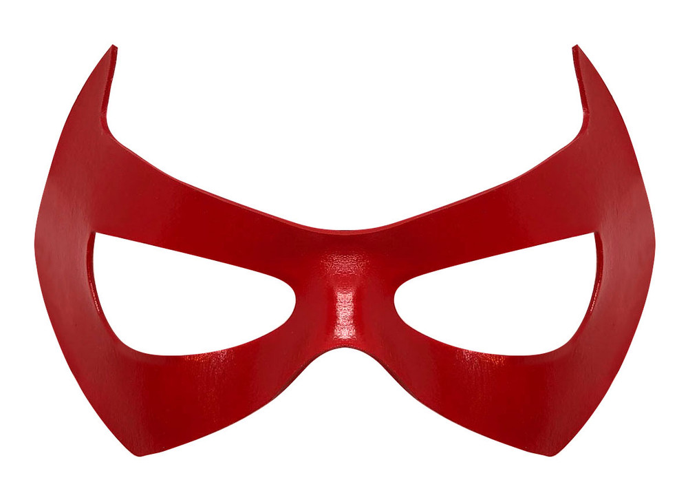 Red Hood Mask Front