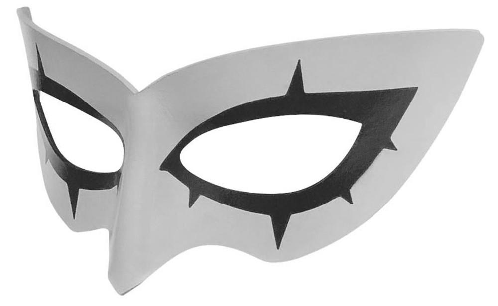 Persona 5 Joker Mask Left Gray
