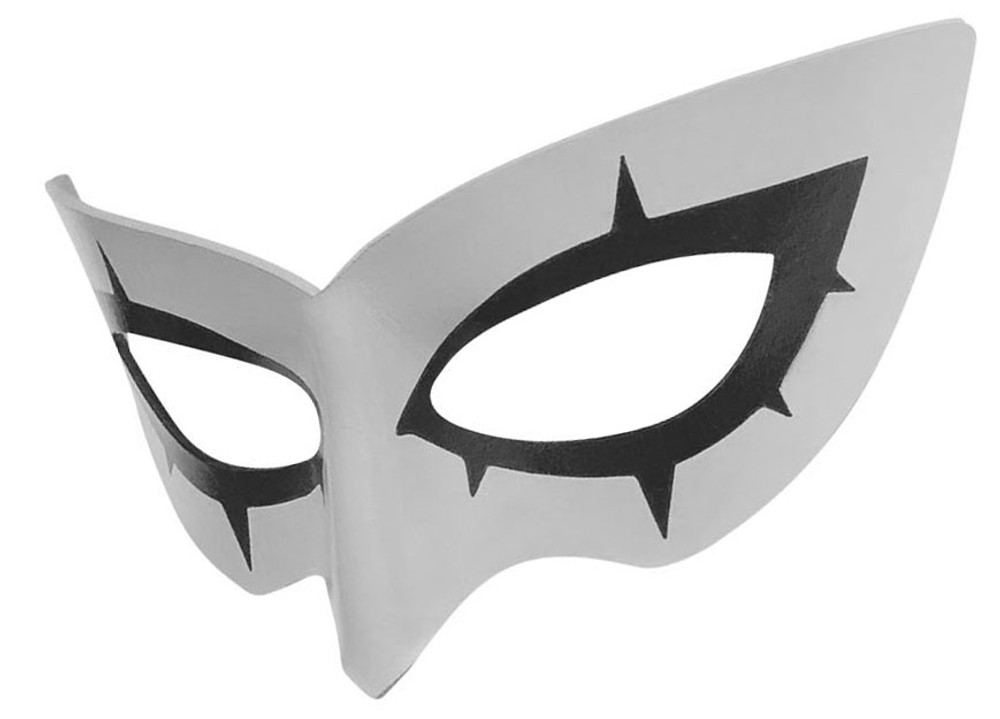 Persona 5 Joker Mask Left Tilt Gray