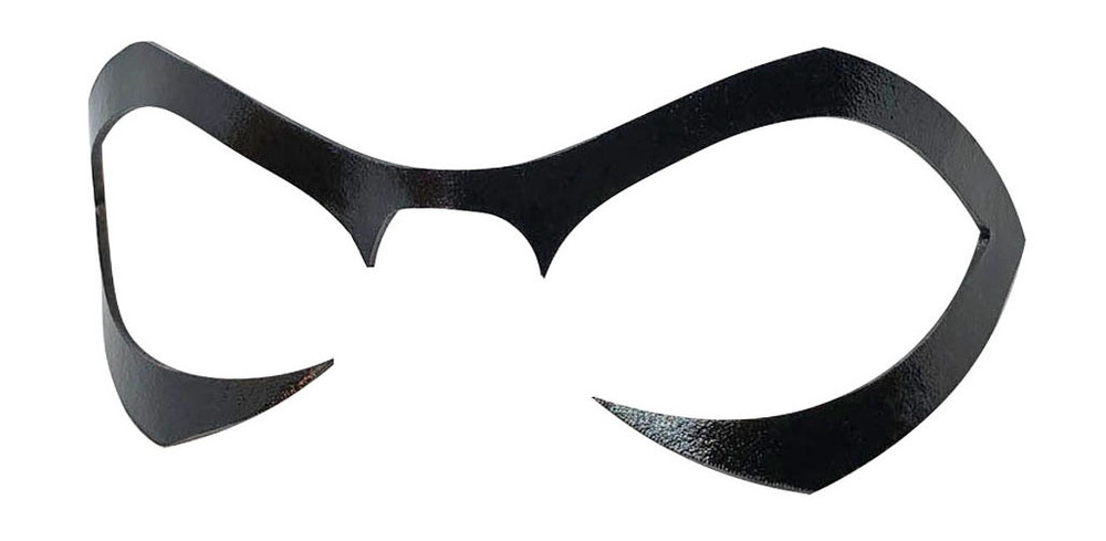 Red Cat Mary Jane Mask Left