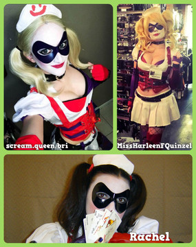 Harley Quinn Arkham Asylum Mask