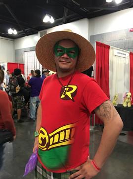 Damian Wayne Robin Mask